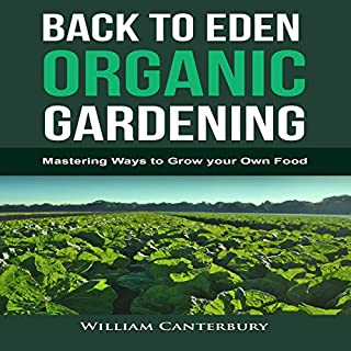 Back to Eden Organic Gardening audiobook cover art
