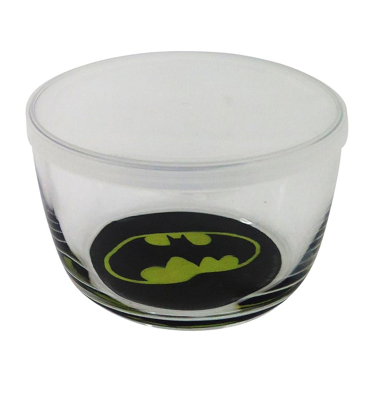 ICUP 16102 DC Batman Logo Glass Storage Bowl, Multicolor