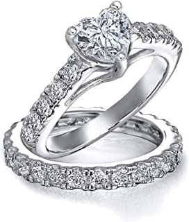 Best silver heart wedding ring Reviews