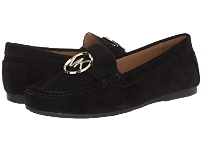 MICHAEL Michael Kors Crawford Moc (Black) Women