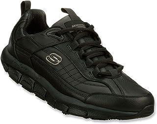 Skechers for Work Men's 76990 Liv Sr Brawney Shape Ups Work Shoe