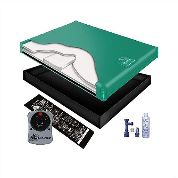 80 WAVELESS WATERBED Mattress Liner Heater Fill Drain Conditioner KIT Queen 60x84 1G6G2