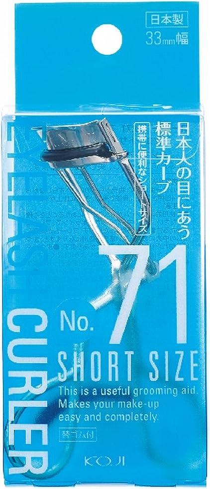 くすぐったい盲信カバレッジNo.71 アイラッシュカーラー (ショートサイズ) 33mm幅