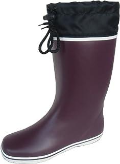長靴 雨靴 防水 レインシューズ 吸汗 軽量 ハーフ 作業長 ガーデニング 畑仕事 泥除け フード シンプル 3色 レディース