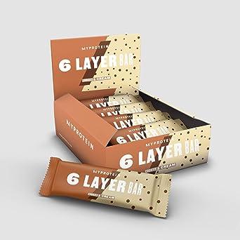 My Protein 6 Layer Bar Cookies & Cream 12 x 70g