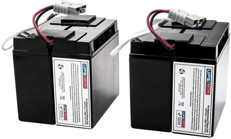 SU2200RMXLNET - New Battery Set for APC Smart UPS XL 2200 RackMount SU2200RMXLNET - Compatible Replacement by UPSBatteryCenter