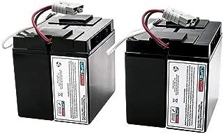 SUA2200RMXLNET - New Battery Set for APC Smart UPS 2200 RM 5U - Compatible Replacement by UPSBatteryCenter
