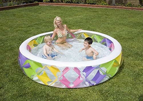 Intex Piscine Pinwheel, Multicolore, 3.INT56494