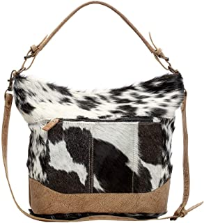Myra S1168 Dual Strap Hair On Shoulder Bag