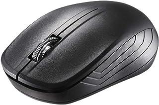 iBUFFALO 無線IRLEDマウス 3ボタン ブラック BSMRW21BK