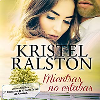 Mientras no estabas audiobook cover art
