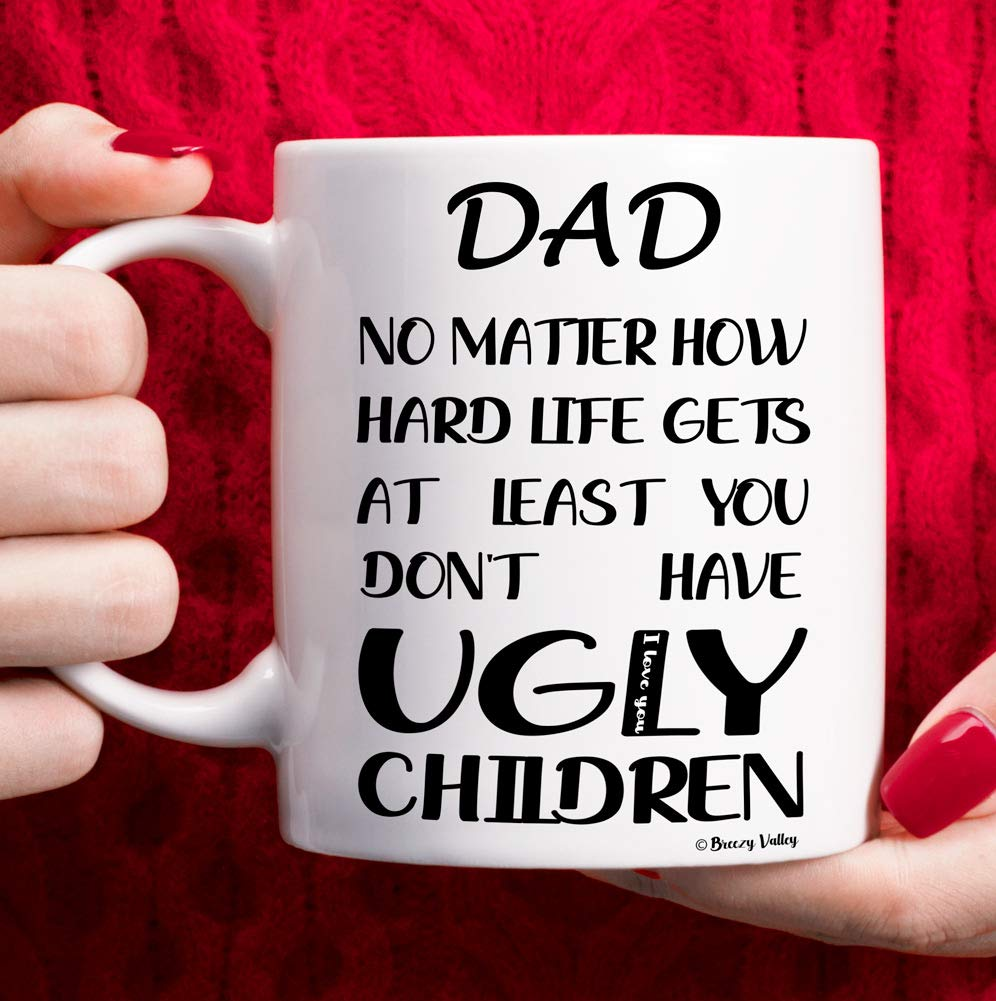 Dad Birthday Gifts From Daughter Son Dad Mug Funny Dad Christmas Gifts Fathers Day Gift For Dad Dad No Matter How Buy Online In Japan At Desertcart Jp Productid 206380065