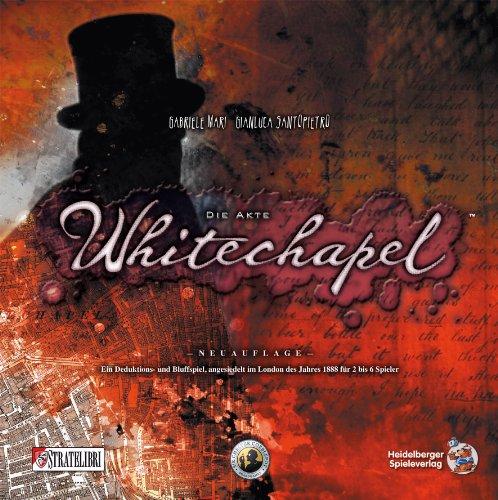 Asmodee HE537 - Die Akte Whitechapel, Ãœberarbeitete Auflage, Brettspiel