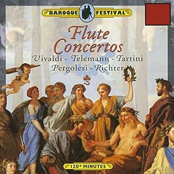 Vivaldi - Tartini - Richter - Pergolesi - Telemann: Flute Concertos