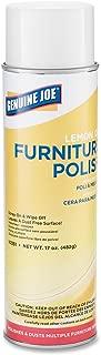 Genuine Joe GJO10351CT Furniture Polish Spray, 17 oz, Lemon Scent (Pack of 12)
