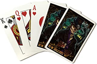 New Orleans, Louisiana - Baron Samedi Voodoo (Playing Card Deck - 52 Card Poker Size with Jokers)