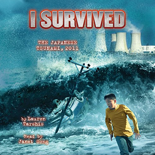 I Survived the Japanese Tsunami, 2011 audiobook cover art