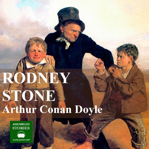 Rodney Stone audiobook cover art