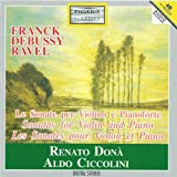 maurice ravel : sonata per violino e pianoforte : iii. perpetuum mobile, allegro