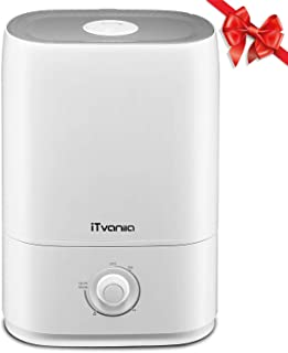 iTvanila Humidifiers, Powerful Cool Mist Humidifier for Bedroom, Living Room and Office, 5.0L Large Capacity