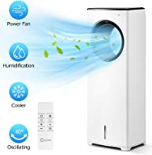 "COMFYHOME 2-in-1 32"" Evaporative Air Cooler & Tower Fan w/Cooling &.."