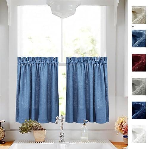 Short Window Curtains For Bathroom: Amazon.com
