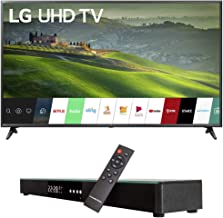 LG 65UM6900 65-inch 4K UHD Smart TV with TruMotion 120 (2019) Bundle with Deco Gear Home Theater Surround Sound 31-inch Soundbar and 6ft Optical Toslink 5.0mm OD Audio Cable