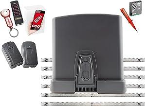 Zomer Runner 7020 schuifpoortaandrijving, 600 kg, met stalen tandstang + WLAN GATE-module voor smartphone-app + lichtkaste...