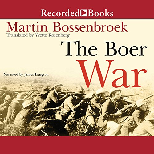 The Boer War audiobook cover art