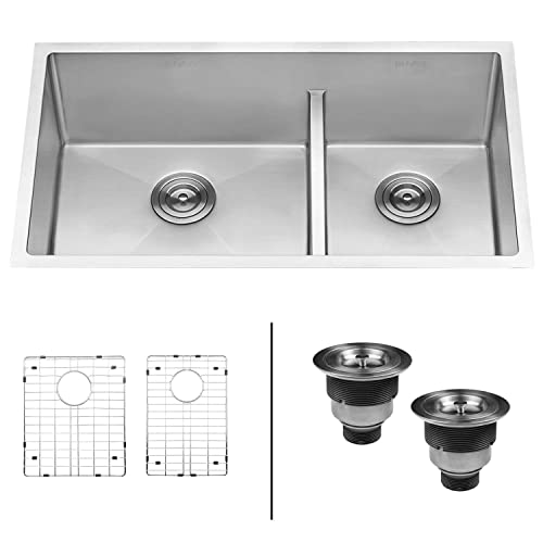 18 Gauge 60/40 Stainless Steel Kitchen Sink: Amazon.com on