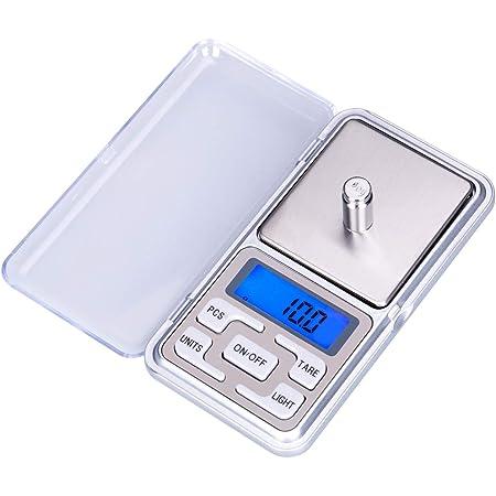 LUPO Mini Balance de Precision 500g x 0.1g pour Bijoux et Médicaments