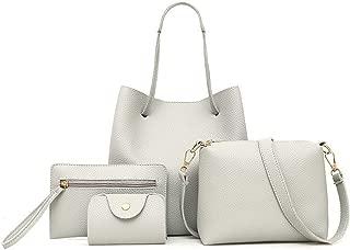 Herald Women ShouldCrossbody Large Capacity 4 Pcs/Set Ladies Shopping Casual Tote Bag Bolsa Sac