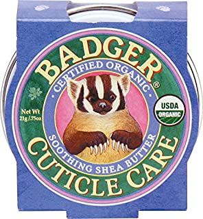 Badger Cuticle Care, Soothing Shea Butter - .75 oz