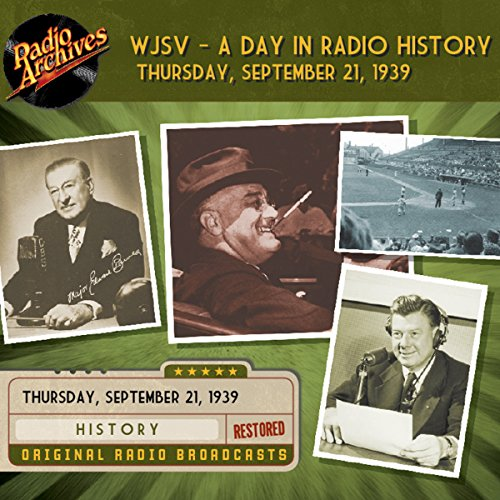 WJSV - A Day in Radio History audiobook cover art