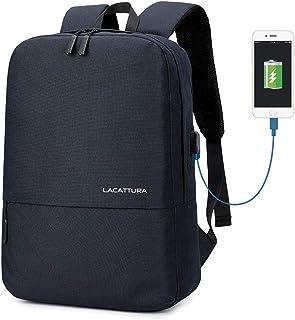 Unisex Simple School Backpack, Casual Stylish Laptop Bookbag for Teen