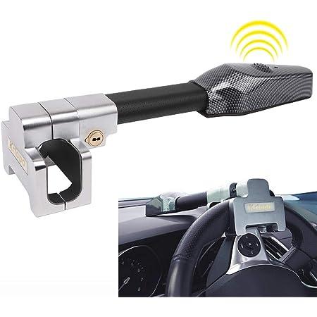 Lenkradkralle Mit Alarm Anti Diebstahl Auto Lenkradschloss Sicherheits Verschluss Einziehbare Schutz T Lock Auto