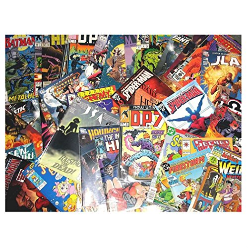 WHOLESALE LOT 25 COMIC BOOKS Marvel DC Image IDW Dark Horse + More! by Unbranded