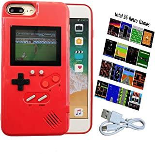 Gameboy Case for iPhone 11, Gaming Case with 36 Retro Games, Handheld Game Console Case for iPhone 11