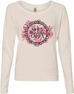 Sigma Lambda Gamma Alternative Eco-Jersey Slouchy Pullover