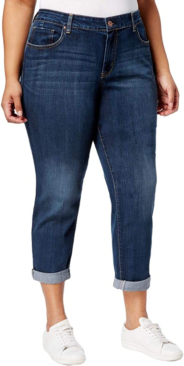 Jessica Simpson Women's Mika Best Friend Relaxed Fit Jean