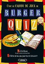 Livres Burger quiz - Le cahier de jeux ePUB, MOBI, Kindle et PDF