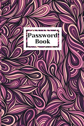 Password Book: Internet Password, Organizer Small Password Journal and Alphabetical Tabs | Password Logbook | Logbook To Protect Usernames | Password keeper | Password journal.