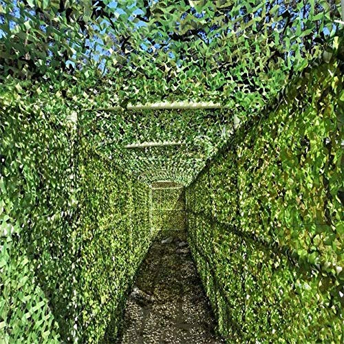 Tela Toldo Para Patio,Exteriores,Jardín Red de camuflaje verde militar, red de sombrilla de red de camuflaje de bosque grande, red de camuflaje profesional 210D tela Oxford impermeable 2X3m 4X6m 8X10