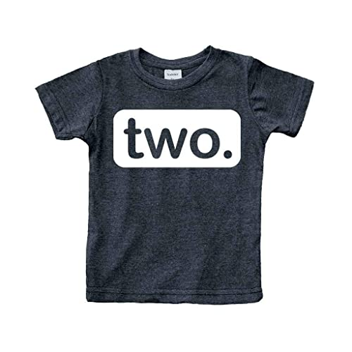 2nd Birthday Shirt Boy 2 Year Old Toddler Kids Outfit Second Two T Party