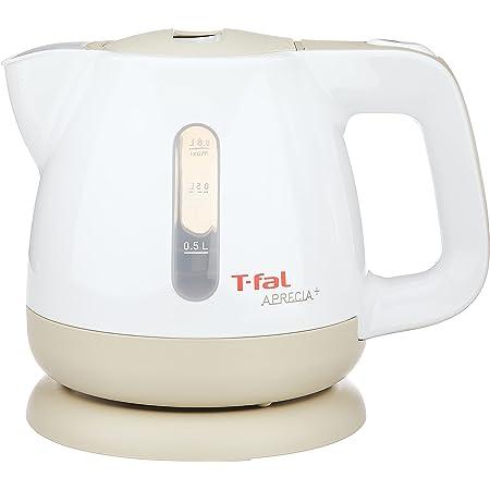 ティファール ケトル 0.8L アプレシアプラス カフェオレ コンパクト 空焚き防止 自動電源OFF 湯沸かし BF805170