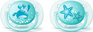 Philips Avent Ultra Soft Soother, 0-6 Months, 2-Pack, SCF220/21