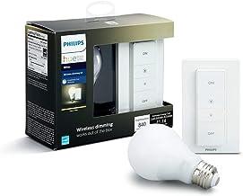 Philips Hue Kit de regulación inalámbrica, E27 8718696452523 LED, 9.5 W, Luz cálida, 1 Bombilla + Mando