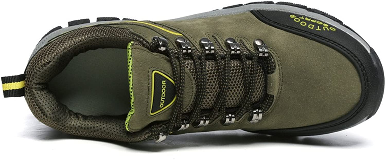Y-WEIFENG Herren Outdoor Flache Ferse Lace Up Cotton Vamp Sportschuhe Grille Schuhe  | Erste in seiner Klasse