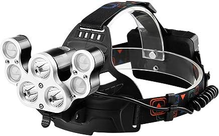 YYHSND Scheinwerferblendlade Super Helle Kopf-angebrachte Multifunktionstaschenlampe Taschenlampe B07P6W1ZC7 | | | Professionelles Design  60618b