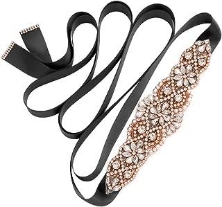 Handmade Bridal Belt Wedding Belts Sashes Rhinestone Crystal Beads Belt For Bridal Gowns